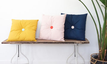 DIY: Είκοσι πέντε ιδέες για μαξιλάρια που μπορείτε να φτιάξετε μόνες σας
