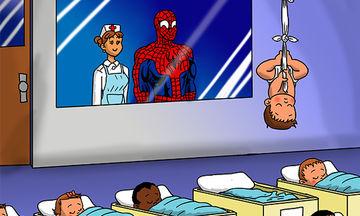 Δεκαπέντε σκίτσα που δείχνουν πώς θα ήταν τα μωρά γνωστών σούπερ ηρώων