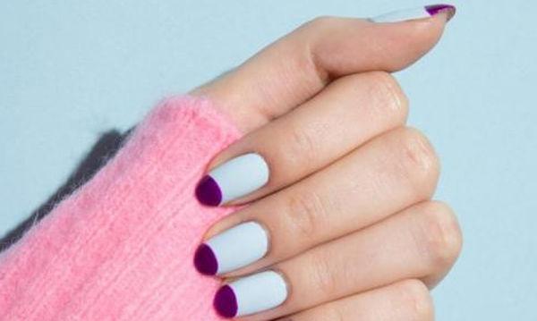 Two-toned mani: 7 ιδέες για χρωματικούς συνδυασμούς στο μανικιούρ