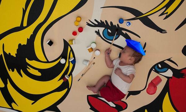 Καλλιτέχνης δημιουργεί φανταστικές περιπέτειες για το παιδί του και το φωτογραφίζει (pics)