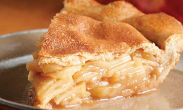 Νηστίσιμη μηλόπιτα χωρίς μίξερ
