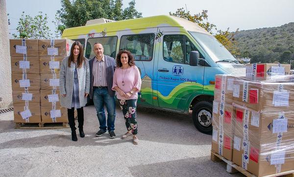 Η Sarkk ΑΒΕΕ συνεχίζει για 5η συνεχόμενη χρονιά τη στήριξη φιλανθρωπικών ιδρυμάτων
