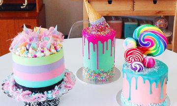 Υπέροχες τούρτες διακοσμημένες με ζαχαρωτά - Σκέτη απόλαυση (pics)