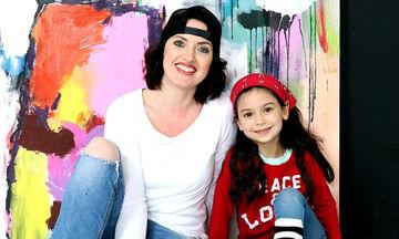 Δείτε πώς έβαψε μια μαμά το δωμάτιο της κόρης της (vid)