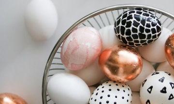 Πασχαλινά αβγά: Δες πώς να τα βάψεις απόψε
