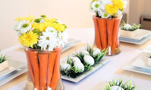 Πρωτότυπες ιδέες της τελευταίας στιγμής για να διακοσμήσετε το πασχαλινό τραπέζι (pics)