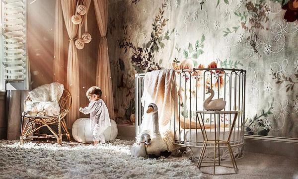 Ρομαντικό κοριτσίστικο βρεφικό δωμάτιο: 25+1 ιδέες για να το διακοσμήσετε