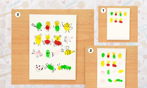 Αρέσει στα παιδιά σας η ζωγραφική; Υπέροχες ιδέες για σχέδια με τα δάχτυλα και την παλάμη (pics)
