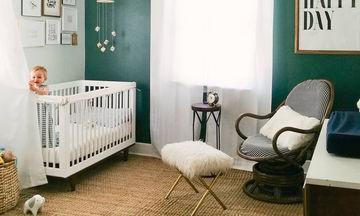 Βρεφικό και παιδικό δωμάτιο σε πράσινη απόχρωση - 25 ιδέες για να το διακοσμήσετε