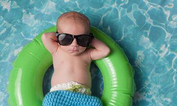 Πρέπει το μωρό να φοράει γυαλιά ηλίου;