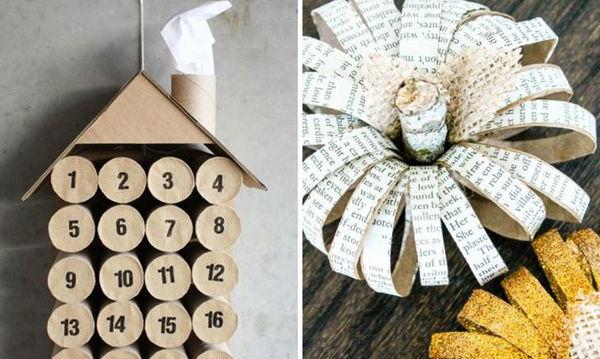 DIY: Δώδεκα εύκολες και γρήγορες κατασκευές για παιδιά με χάρτινα ρολά