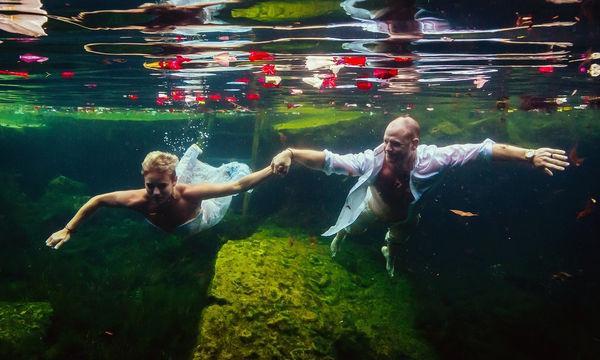 Οι γαμήλιες φωτογραφίες αυτού του ζευγαριού είναι από τις καλύτερες που έχουμε δει