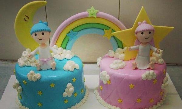 Γενέθλια για δίδυμα: Εικοσιπέντε απίθανες ιδέες για την τούρτα
