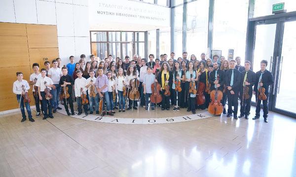 Μέγαρο Μουσικής:  Ανοιξιάτικη συναυλία της ορχήστρας Camerata Junior στις 6 Μαΐου