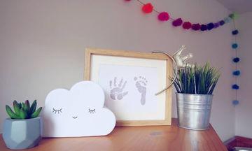 Απίθανες ιδέες διακόσμησης και όχι μόνο, με τις πατουσίτσες του μωρού σας