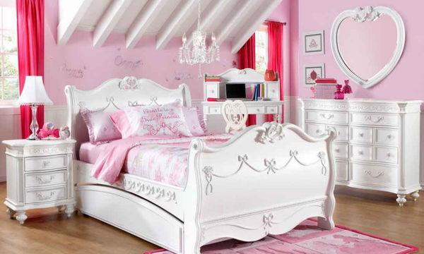 Ρομαντικό παιδικό δωμάτιο για κορίτσια - Είκοσι όμορφες ιδέες