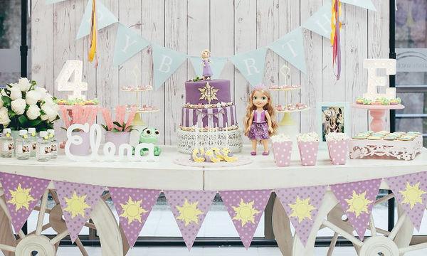 «Μαλλιά κουβάρια» ή αλλιώς πάρτι Ραπουνζέλ: Ιδέες για να οργανώσετε το πάρτι που ζητά η κόρη σας