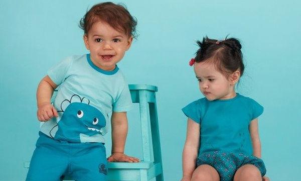 Ανοιξιάτικο κοντομάνικο μπλουζάκι για αγόρια σε απίστευτη τιμή