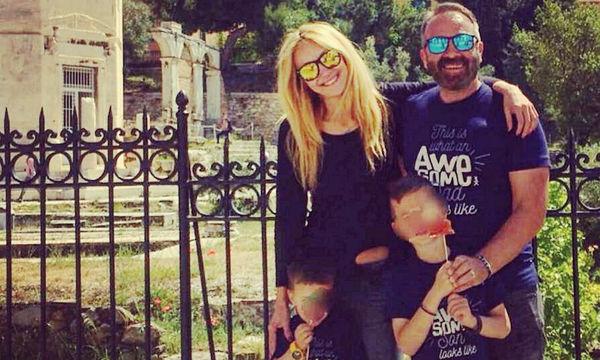 Γρηγόρης Γκουντάρας - Νάταλι Κάκκαβα: Τα τρυφερά τους μηνύματα στο Instagram για τον γιο τους Μάρκο