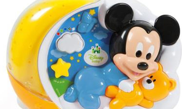 Disney Bebe προτζέκτορας Mickey: Και ο βραδινός ύπνος του παιδιού γίνεται πιο εύκολος