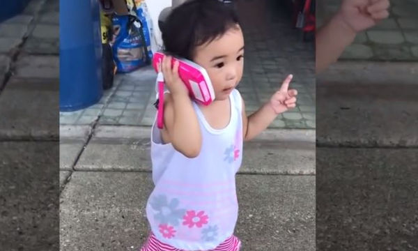 Μωρά μιλούν στο τηλέφωνο και μας προσφέρουν άφθονο γέλιο (video)