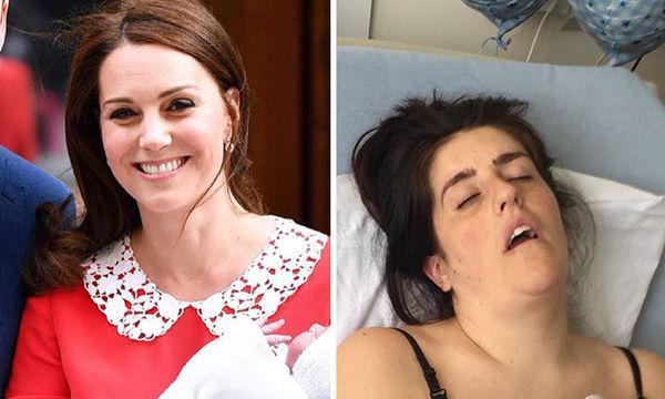 Kate Middleton vs κοινές θνητές: Έτσι είναι οι περισσότερες γυναίκες μετά τη γέννα (pics)