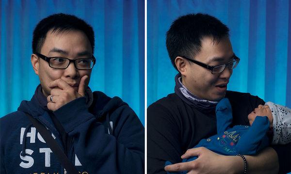 Πρώτη φορά μπαμπάς: Το πριν και το μετά, μέσα από φωτογραφίες που τα λένε όλα