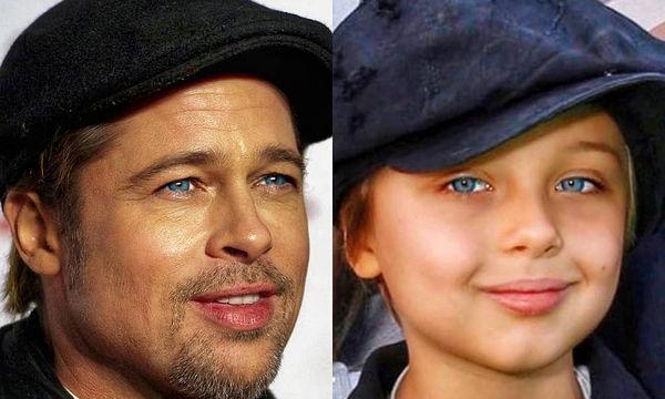 Knox Jolie - Pitt: Όσο μεγαλώνει, είναι ολόιδιος ο Brad Pitt