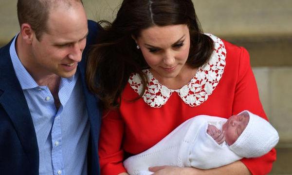 Επιτέλους! Δημοσιεύτηκαν οι πρώτες επίσημες φωτογραφίες του νεογέννητου πρίγκιπα Louis