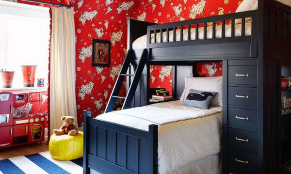 978c538b5ee Παιδικό δωμάτιο για αγόρι: Τριάντα πραγματικά ξεχωριστές ιδέες ...
