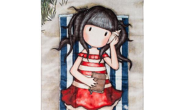 Αυτή η πετσέτα θαλάσσης θα ενθουσιάσει τα κορίτσια