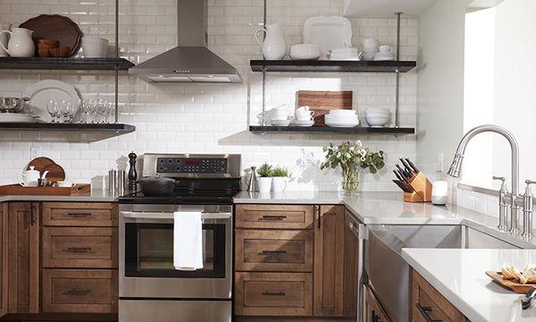 Τριάντα ιδέες για ράφια κουζίνας - Είναι τόσο πρακτικά (pics)
