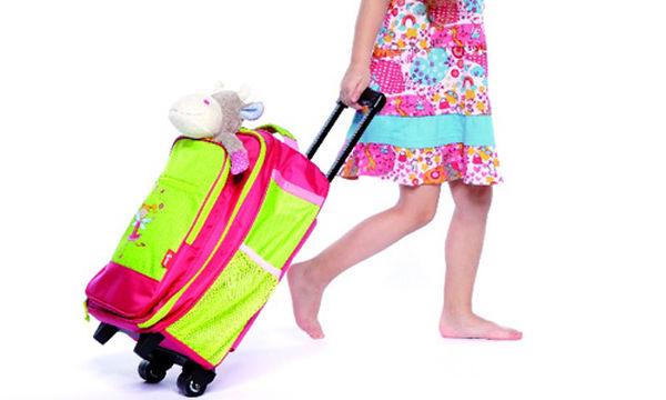 Παιδική κοριτσίστικη βαλίτσα για τις κατασκηνώσεις, τις εκδρομές και τα ταξίδια