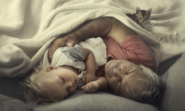 Ο υπέροχος δεσμός των παιδιών με τη γιαγιά και τον παππού μέσα από φωτογραφίες