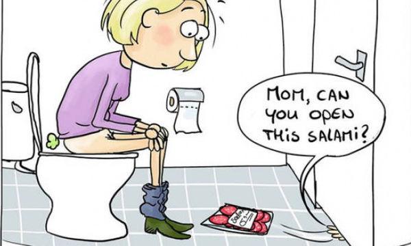 Δεκαπέντε αστεία και ρεαλιστικά σκίτσα με τα οποία θα ταυτιστούν όλοι οι γονείς (pics)