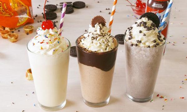 Τρεις απίθανες συνταγές για milkshake