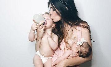 Τέσσερις έξυπνες συμβουλές για μαμάδες που δε χάνουν βάρος κατά την διάρκεια του θηλασμού