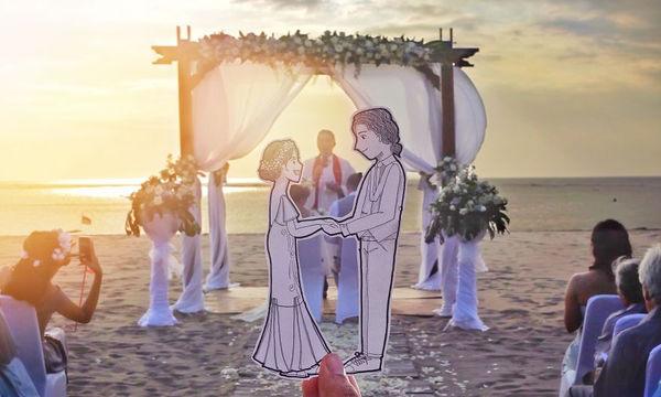 Ναι, αυτές είναι οι πιο πρωτότυπες γαμήλιες φωτογραφίες, που έχουμε δει