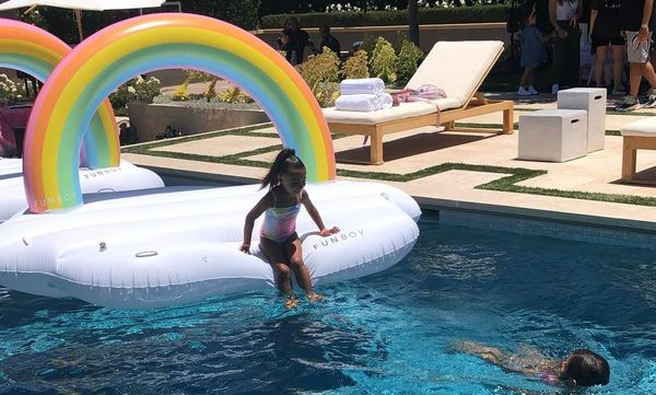 Φωτογραφίες και βίντεο από το πάρτι υπερπαραγωγή της North West και της ξαδέρφης της Penelope