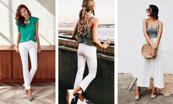 Λευκό παντελόνι: Πώς να το φορέσετε και αυτό το καλοκαίρι (pics)