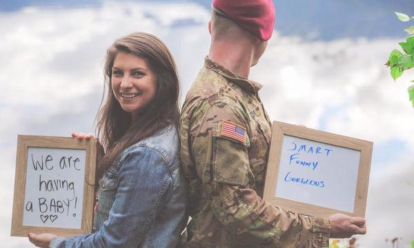 Η ωραιότερη ανακοίνωση εγκυμοσύνης: Του έκανε έκπληξη και τον άφησε άφωνο & συγκινημένο (pics)
