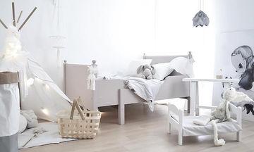 Παιδικά δωμάτια σε λευκό χρώμα: Είκοσι ιδέες για να το τολμήσετε (pics)
