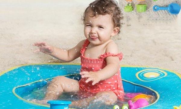 Πισίνα με παιχνιδάκια στην άμμο - Για ανέμελες στιγμές στην παραλία