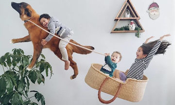 Μαμά μετατρέπει την καθημερινότητα των παιδιών της σε μαγικές περιπέτειες (pics)