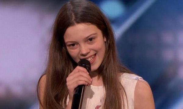 America's Got Talent: Η 13χρονη που τους άφησε όλους άφωνους