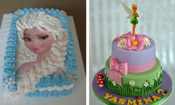 Εικοσιπέντε εντυπωσιακές τούρτες γενεθλίων για κορίτσια - Θα ενθουσιαστούν (pics + vid)