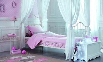 Παιδικό δωμάτιο για κορίτσια - Είκοσι ιδέες σε ρομαντικό στυλ (pics)