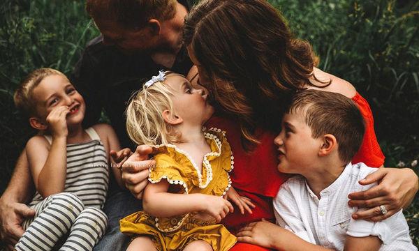 Φωτογραφίες που αποτυπώνουν την οικογενειακή ευτυχία