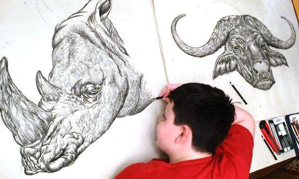 Το ταλέντο αυτού του αγοριού στη ζωγραφική θα σας εντυπωσιάσει (pics)