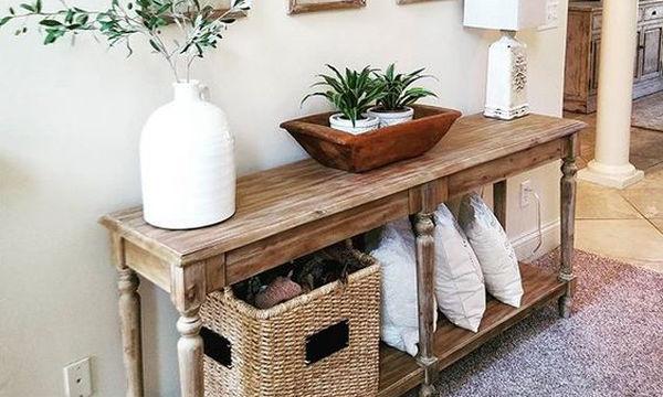 Εικοσιπέντε όμορφες κονσόλες για την είσοδο του σπιτιού σας και όχι μόνο (pics)